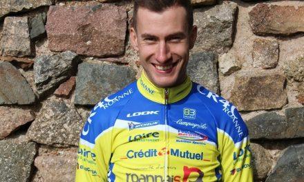 Geoffrey Bouchard (ex-CR4C), meilleur grimpeur de la Vuelta