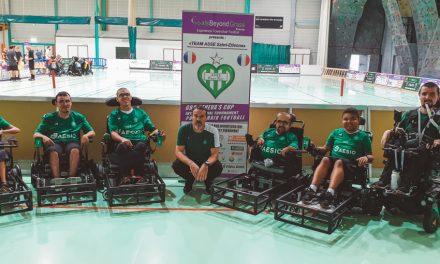 La section foot fauteuil de l'ASSE 3e du Tournoi International de Genève