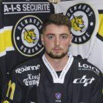 """Charles-Olivier Ouimet (Roanne Hockey) élu """"Sportif du mois"""" en octobre"""