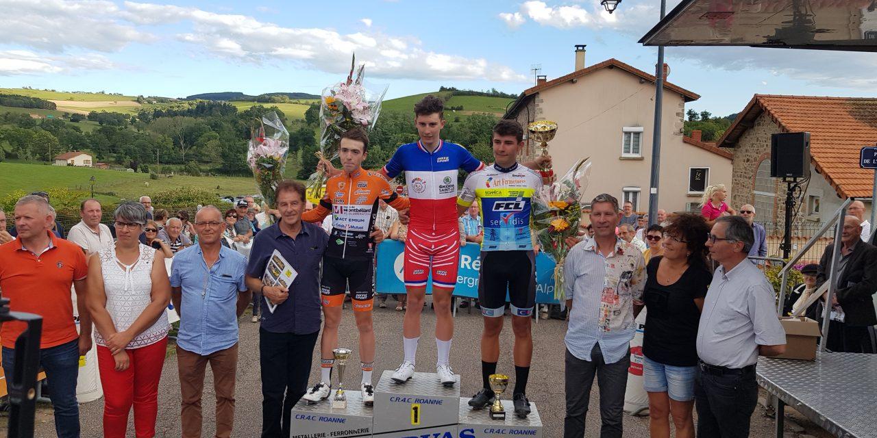 Grand Prix de Fourneaux : Le champion de France junior triomphe au sprint !