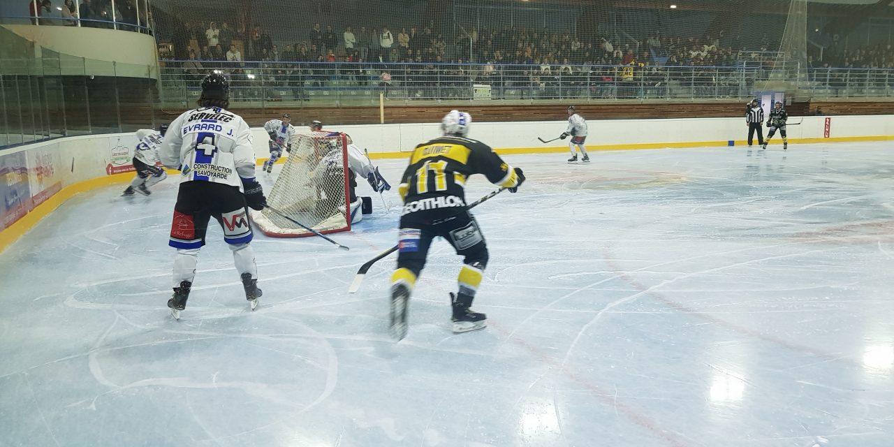 Le Roanne Hockey logiquement battu