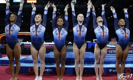 Gym, Ch du monde : Les Bleues terminent cinquièmes