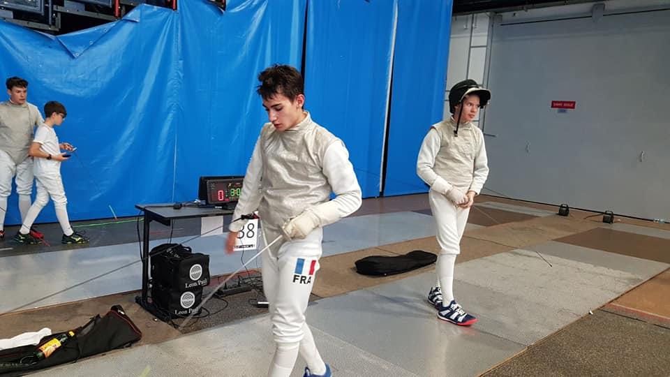 Escrime : Un Roannais avec l'équipe de France junior