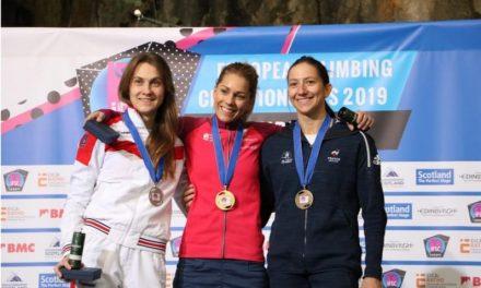 Escalade :  Anouck Jaubert en bronze aux championnats d'Europe