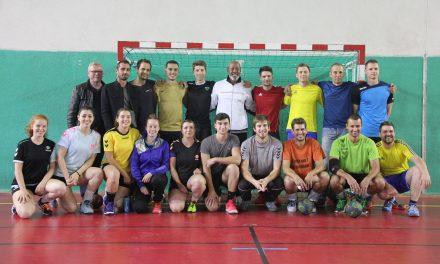 Un légende française du handball à Feurs