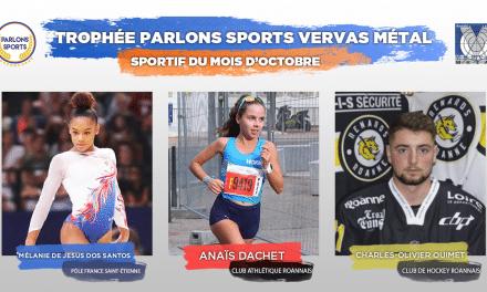 [VOTE] – Élisez le sportif du mois d'octobre