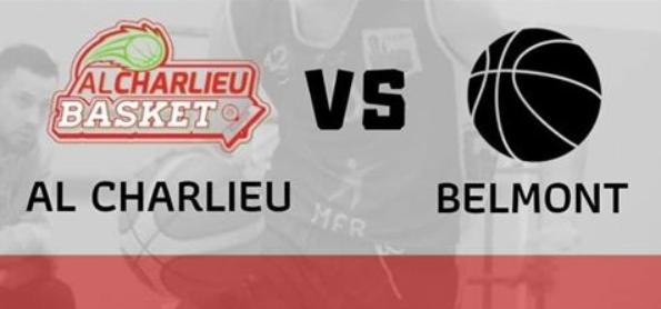 Basket : Charlieu face à Belmont pour un derby explosif !