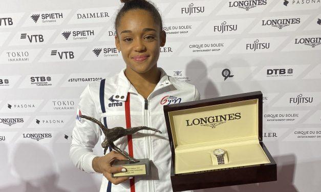 Avant les finales, Mélanie De Jésus Dos Santos honorée