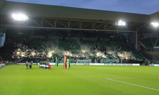 Le XV de France en match amical dans le Chaudron