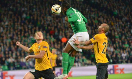 Ligue Europa : Les Verts accrochés par Oleksandria