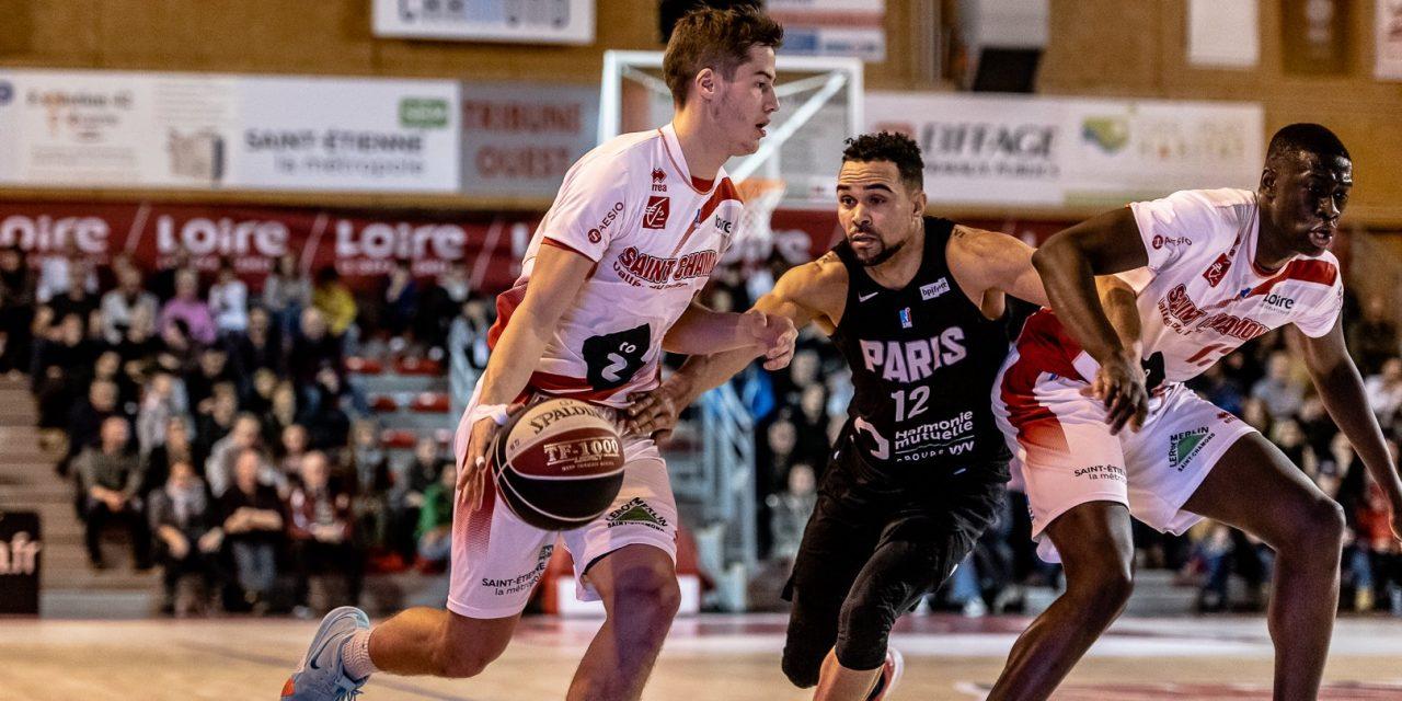 Pro B : Saint-Chamond retrouve le chemin de la victoire