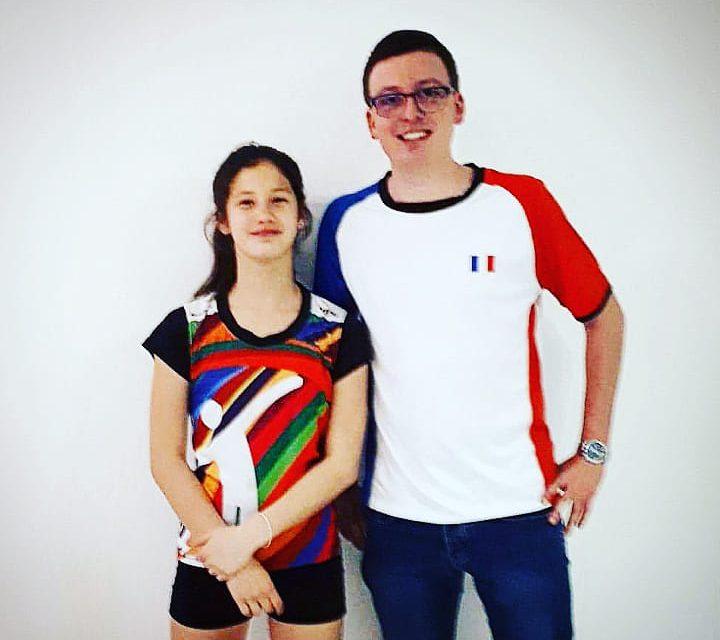 Nina Houl (Roanne Badminton) sélectionnée en Equipe de France