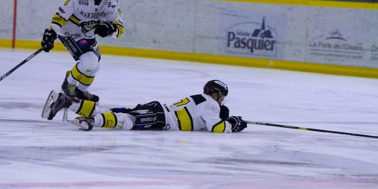 D2 : Le Roanne Hockey battu au bout de la nuit