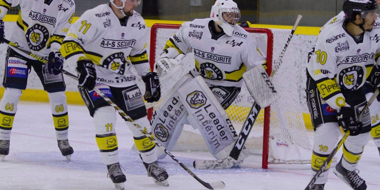 D2 : Le Roanne Hockey battu après prolongations