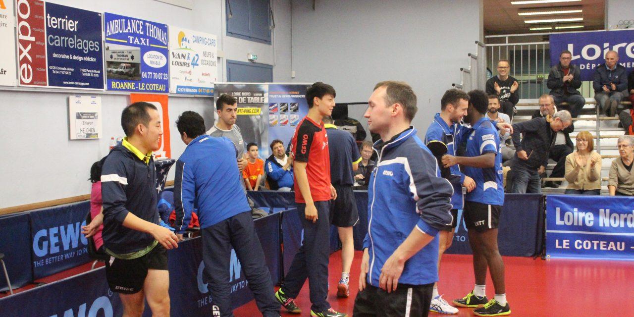 Tennis de table : Le LNTT reçoit l'ogre de la pro B