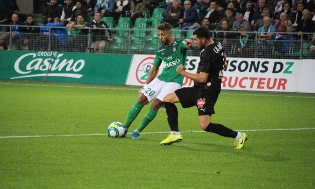 ASSE : Bouanga nommé pour le titre du joueur du mois de Novembre en Ligue 1