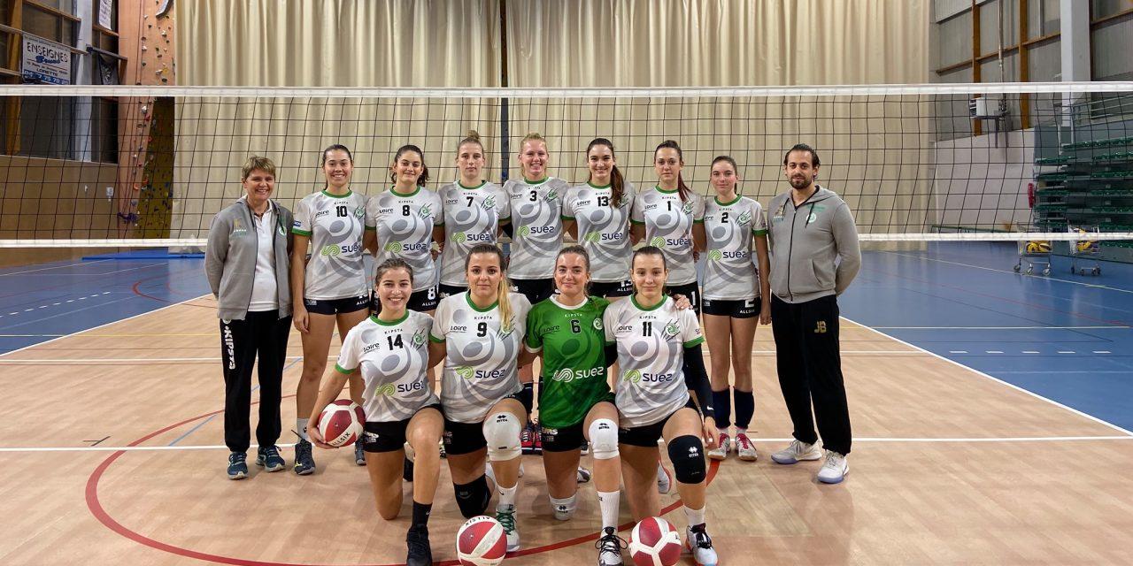 Volley : Saint-Chamond (NF2) poursuit sa route, le CASE (NM3) retrouve le succès