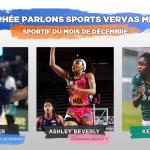 [Vote] – Elisez le Sportif Parlons Sports/Vervas Métal du mois de décembre