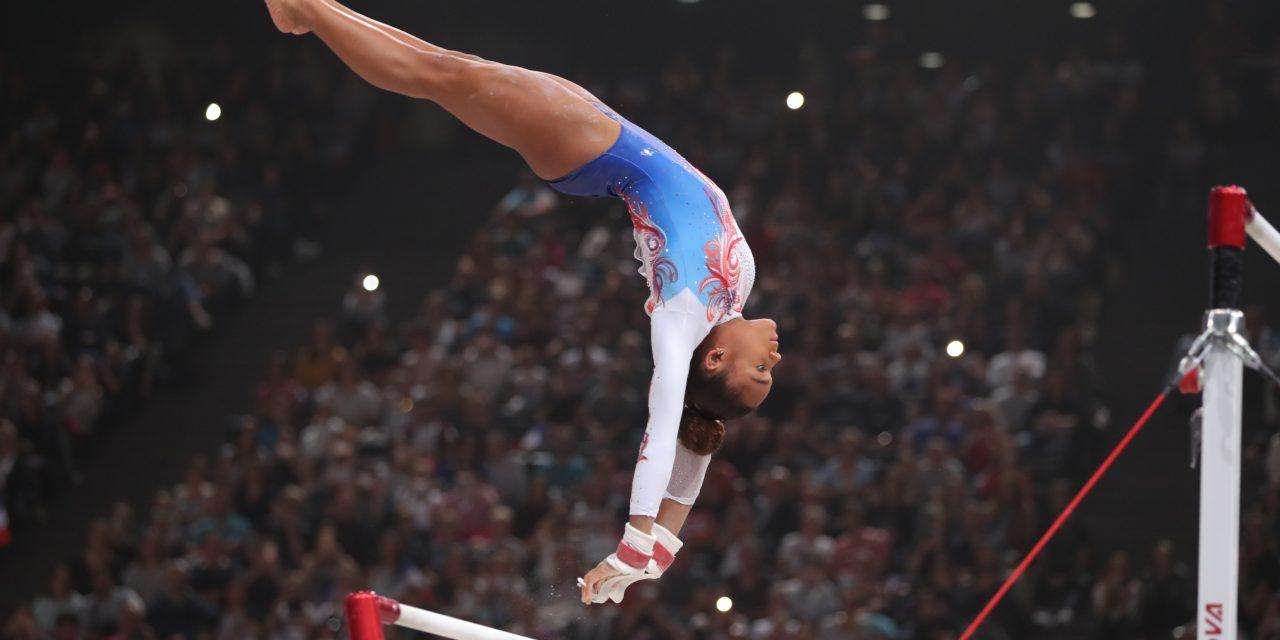 Le 12 avril 2019… Mélanie De Jésus Dos Santos est entrée dans l'histoire de la gym française