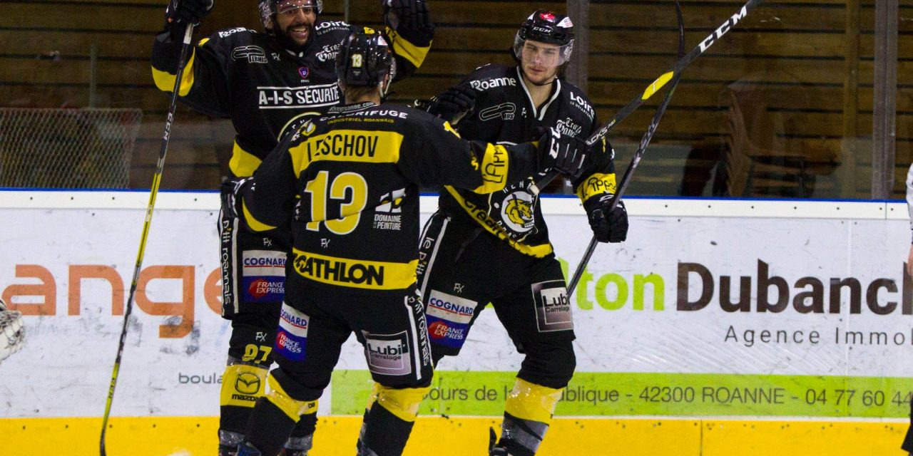 Le Roanne Hockey atomise Strasbourg avant les playoffs !