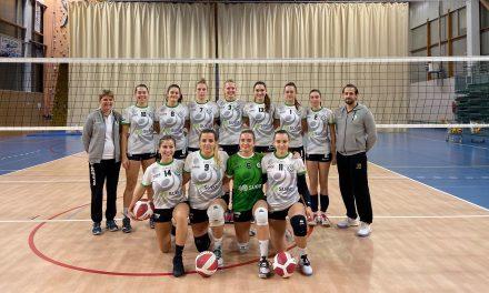 """Azeline Horvais (Entente Saint-Chamond Volley) : """"L'objectif est clair, nous voulons monter"""""""
