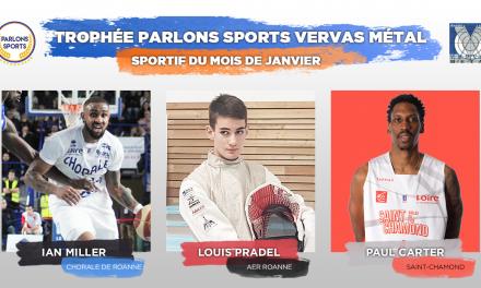 """[VOTE] – Elisez le """"Sportif du mois"""" de janvier"""