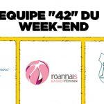 VOTEZ POUR L'EQUIPE 42 DU WEEK-END
