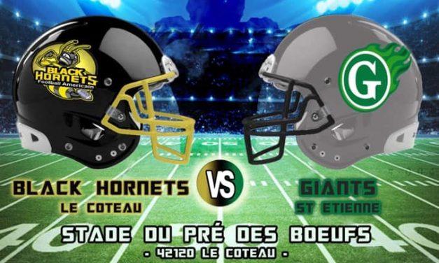 Football Américain : Le derby de la Loire se jouera dimanche au Coteau