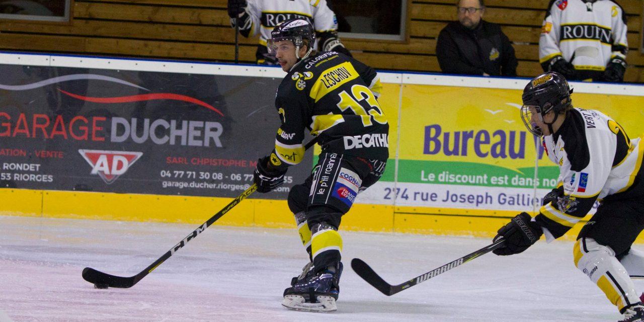 """D'un souffle, le Roanne Hockey est votre """"Equipe 42"""" du week-end"""