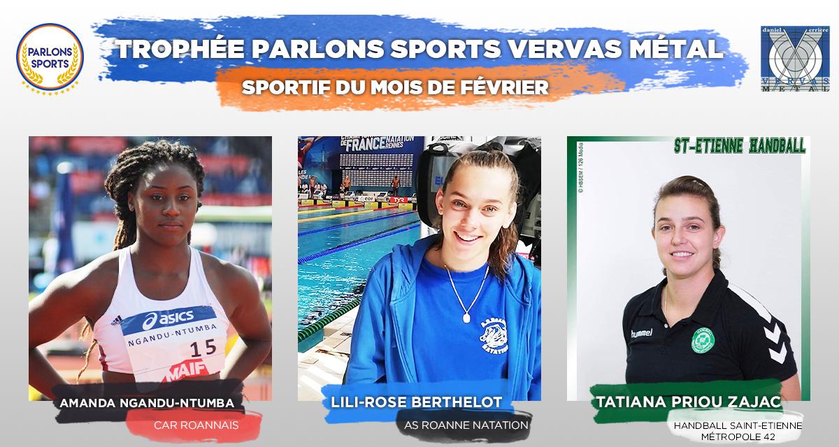 """[VOTE] Désignez le """"Sportif du mois"""" de février"""