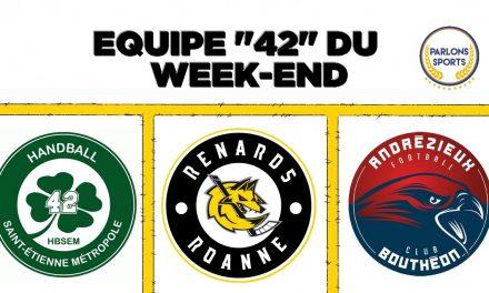 """[VOTE] Désignez votre """"Equipe 42"""" du week-end"""