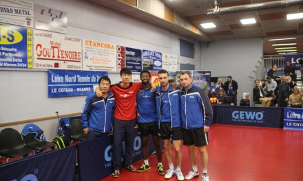 Pro B : Le Loire Nord Tennis de Table respire mieux