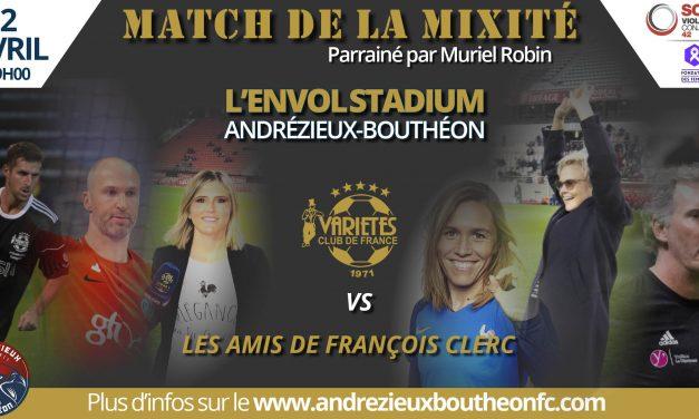 Un match de la mixité organisé à Andrézieux-Bouthéon