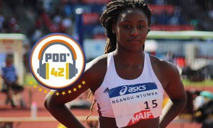 [AUDIO] Le Pod'42 du jour avec Amanda Ngandu-Ntumba (CAR Roannais)