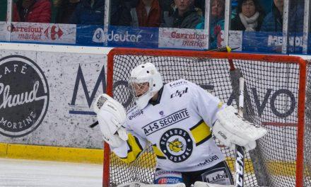 Clément Ginier, gardien du Roanne Hockey, signe en Ligue Magnus