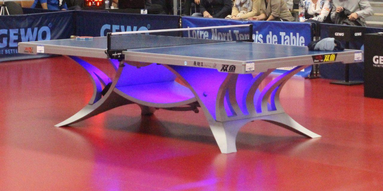 """Au tennis de table, """"saison blanche"""" pour les amateurs"""