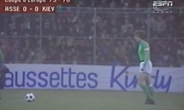 [Vidéo] Revivez le match mythique ASSE-Kyev