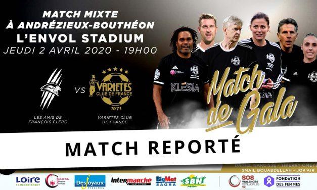 Andrézieux-Bouthéon : Le match de la mixité reporté !