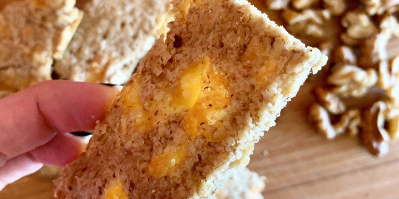 Recette Dièt&Forme : Crackers maison noix fromage