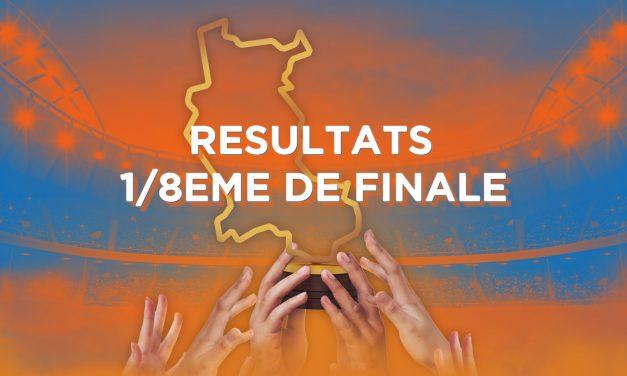Découvrez les résultats des huitièmes de finale de la Coupe des Clubs de la Loire