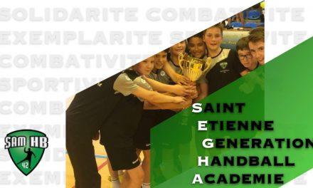 Le Saint-Etienne Masculin Handball va ouvrir son académie pour les jeunes