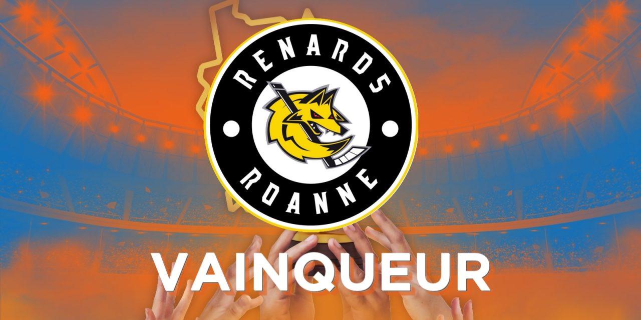 Le Roanne Hockey remporte la Coupe des Clubs de la Loire