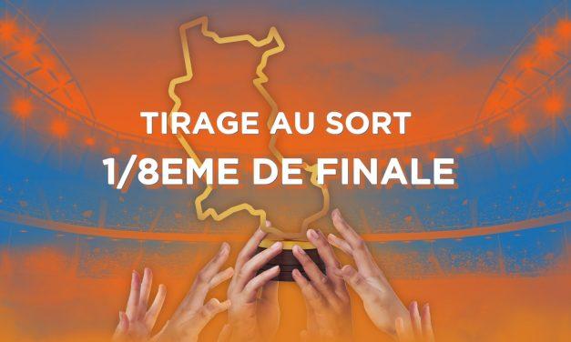 Découvrez le tirage au sort des huitièmes de finale de la Coupe des Clubs de la Loire