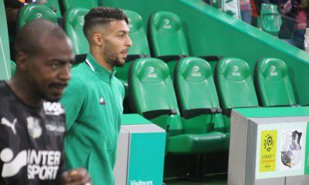 ASSE – PSG : J-1 Bouanga l'homme à suivre pour la finale