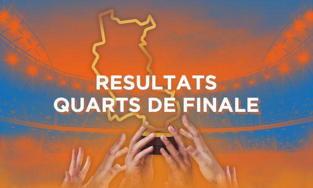 Découvrez les résultats des quarts de finale de la Coupe des Clubs de la Loire