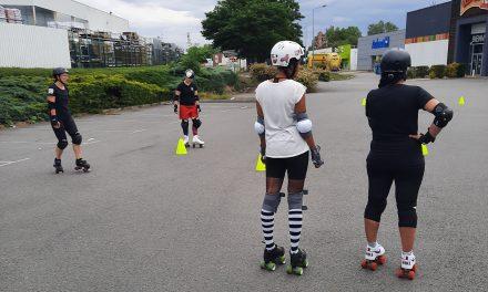 Le Roller Derby a repris l'entraînement à Roanne