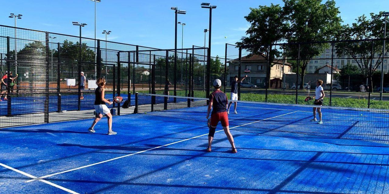 Le Tennis Club de Roanne ouvre deux terrains de padel