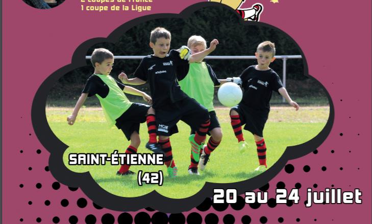 Dribbléo va organiser un stage foot à Saint-Etienne en juillet