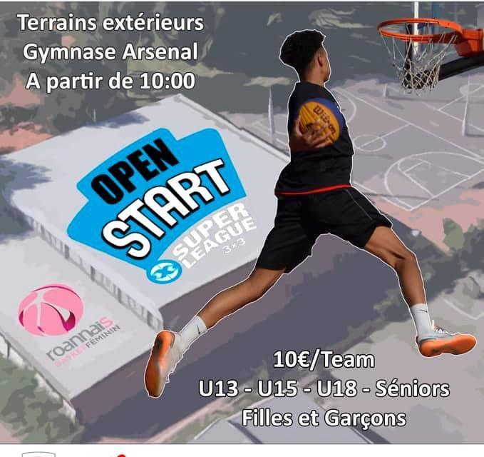Le Roannais Basket Féminin organise l'Open Start 3×3