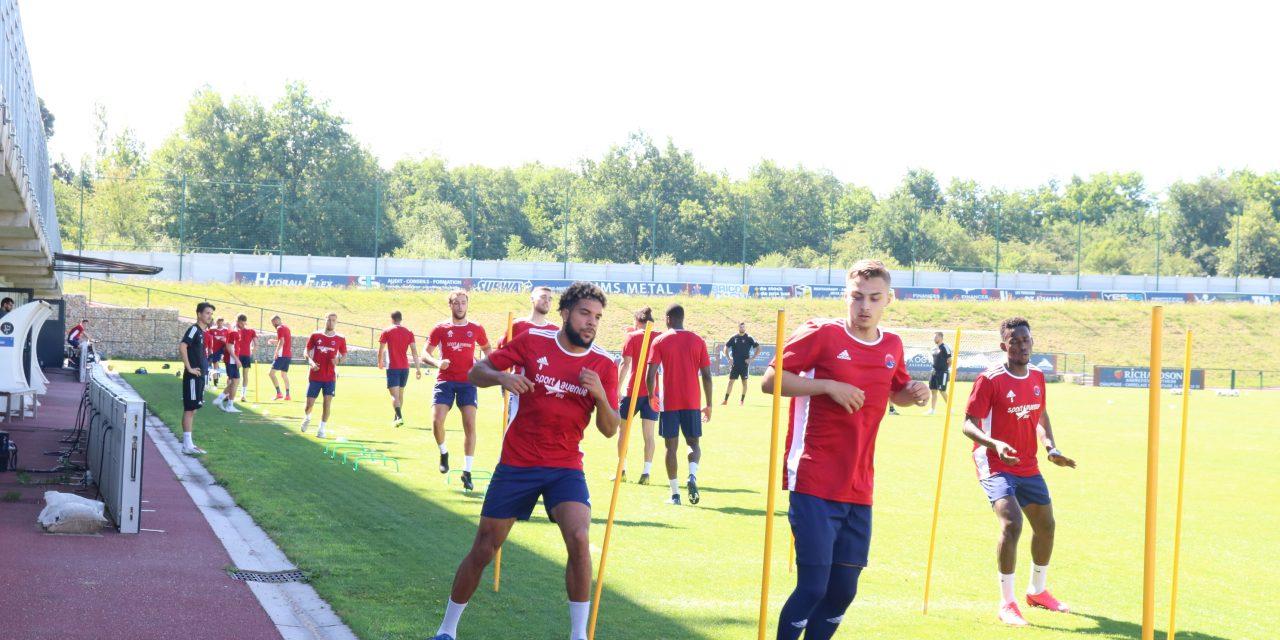 L'ABFC a repris l'entraînement ce matin